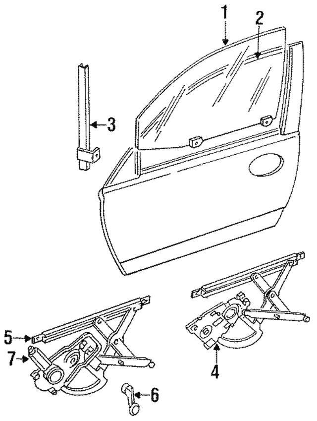 1996 Dodge Intrepid Brake