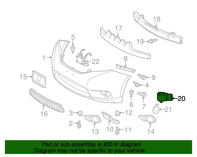 Park Sensor Toyota 89341 48010 A3