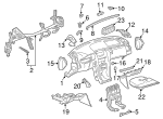 Lower Panel - Mercedes-Benz (210-680-41-87-7D18)