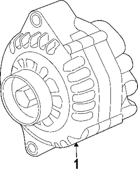 Alternator For 2005 Pontiac Gto