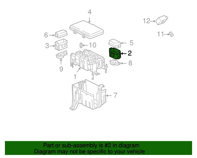 20032009 Lexus Gx470 Fuse Relay Box 8274235060 Of West. Fuse Relay Box Lexus 8274235060. Wiring. Gx470 Fuse Diagram At Scoala.co