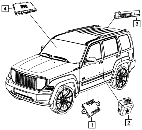 Keys Modules And Engine Controllers For 2012 Jeep Liberty