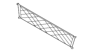 Cargo Net - Ford (DM5Z-58550A66-A)