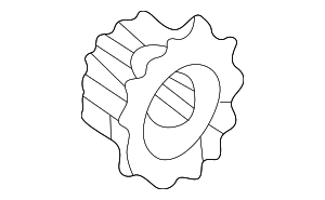 Pulley, Timing Belt Drive - Honda (13621-P72-A01)