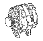 Alternator - Mercedes-Benz (000-906-20-04-80)