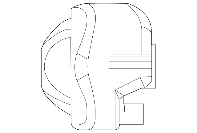2004 2015 Mopar Alarm Horn 56038724ab