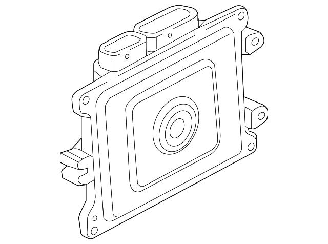 Honda Control Module Powertrain Rewritable 37820 5ba L67