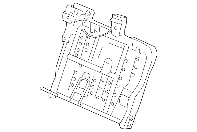 frame  r rear seat-back