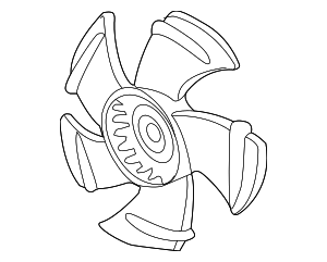 Fan, Cooling - Acura (19020-R40-A01)