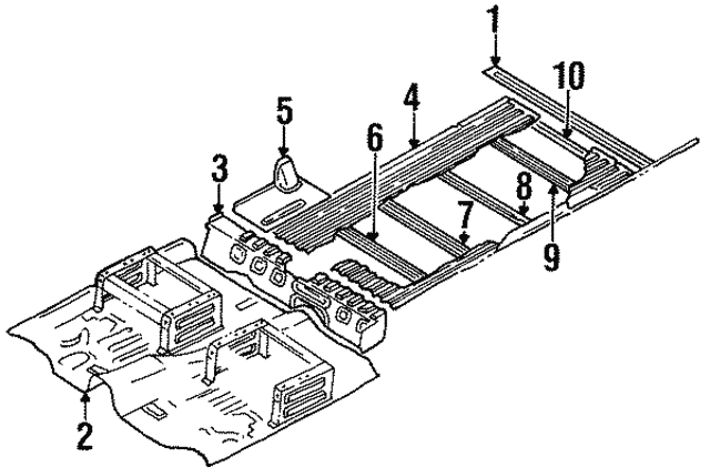 1987 Isuzu Trooper Fuel Diagram