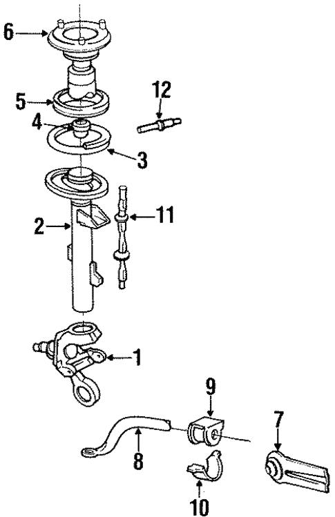 1993 Ford Tauru Engine Diagram
