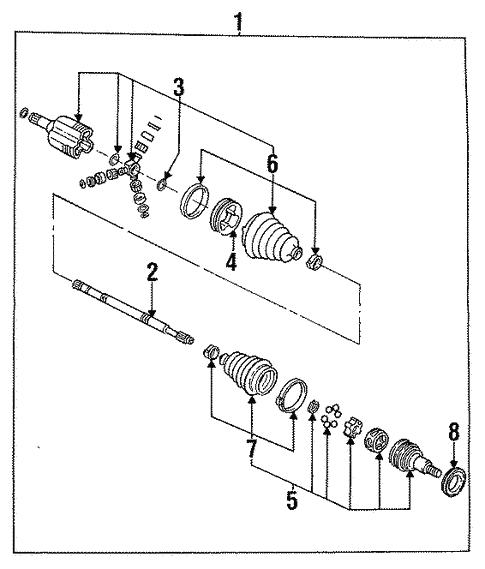 Buick Motor Mounts Diagram