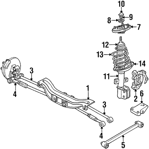 Gm Ft Lateral Rod 10329693 on gmc yukon suspension parts