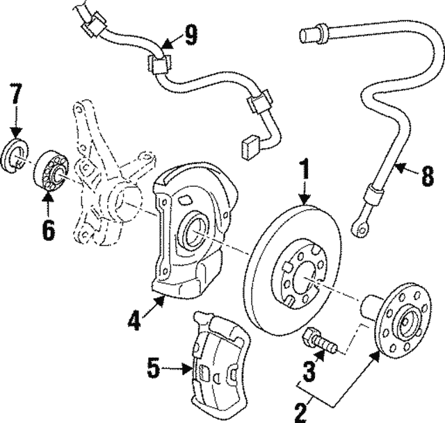 Wheel Bearing Snap Ring Rightpass