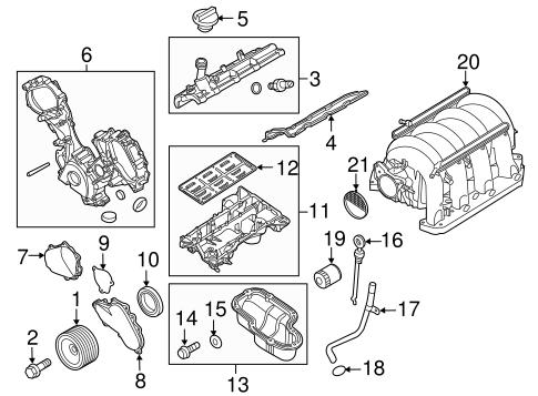 Engine Parts For 2016 Nissan Nv3500