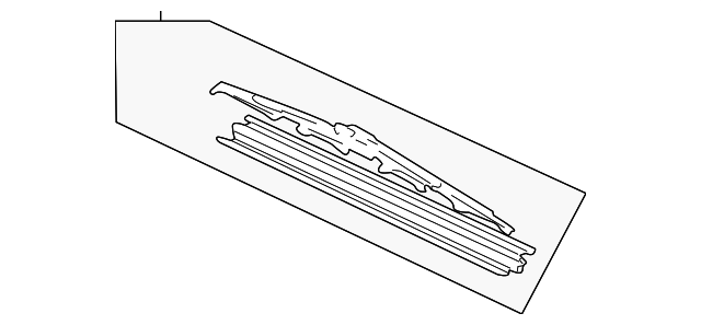 Blade, Windshield Wiper (525MM)