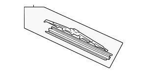 Blade, Windshield Wiper (525MM) - Honda (76630-S3V-A11)