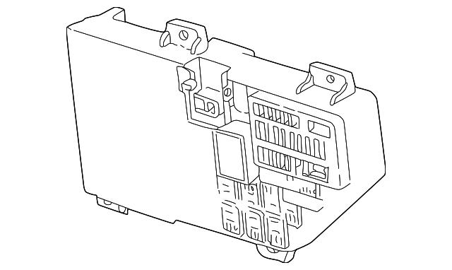 2001 Mopar Fuse Box Main 4759739aa