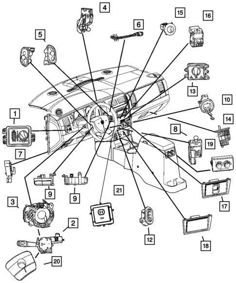 Switches For 2007 Dodge Durango