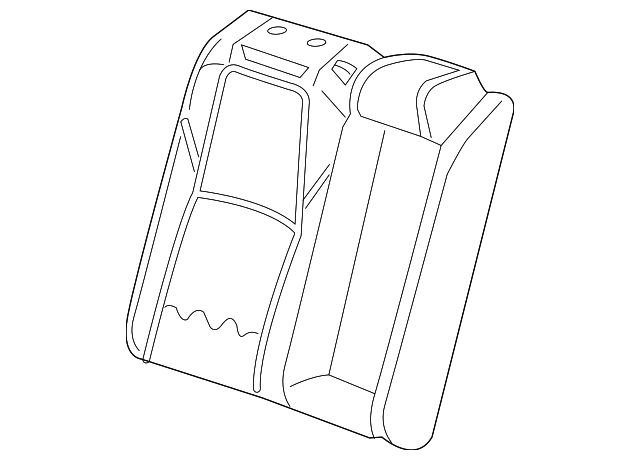 pad  r rear seat-back