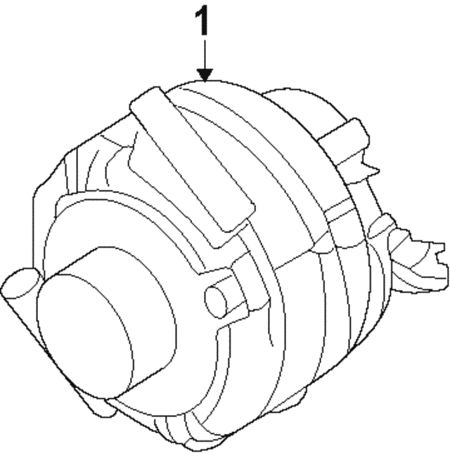 Alternator - Ford (BR3Z-10346-B)