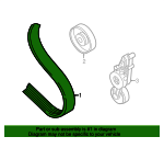 Serpentine Belt - Audi (06B-903-137-D)