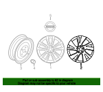 Wheel, Alloy - Nissan (40300-9PM0A)