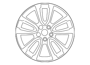 Wheel, Alloy - Nissan (40300-3JA2C)
