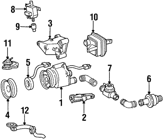 Pulley - Mercedes-Benz (119-140-00-86)