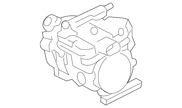 2012 2018 Toyota Prius C Compressor 88370 52012