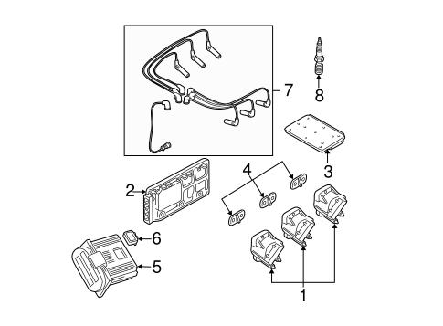 oem 1997 buick park avenue ignition system parts gmpartsonline net john deere ignition wiring diagram electrical ignition system for 1997 buick park avenue 1