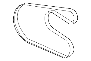 Serpentine Belt - Mopar (4892748AD)