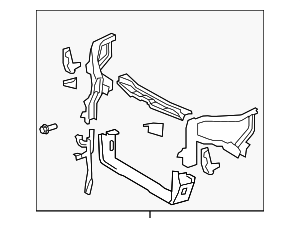 Radiator Support - Toyota (53210-0T012)