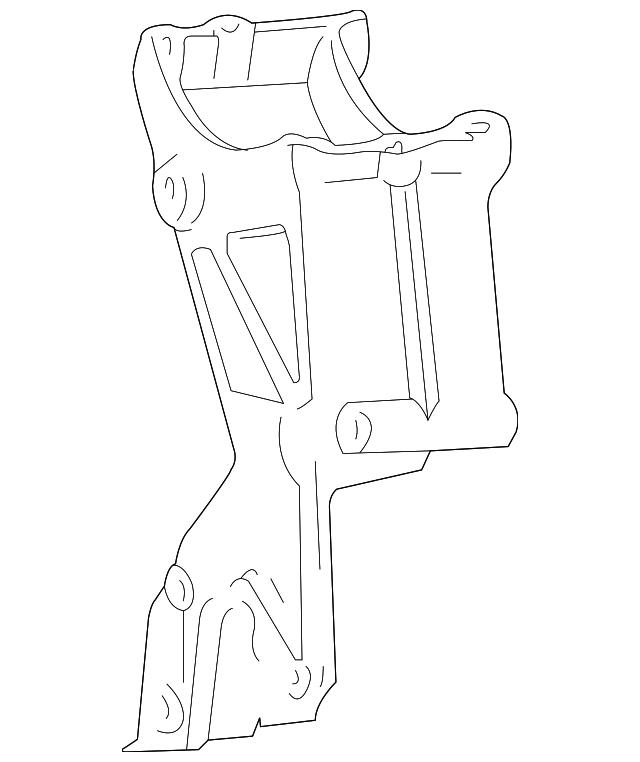 alternator mount plate