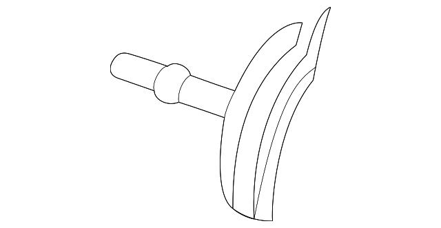 fuel filter bracket - ford (5f9z-9180-aa)