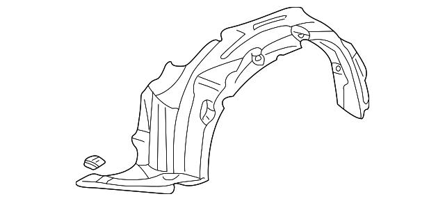 Fender Assembly R Front Inner