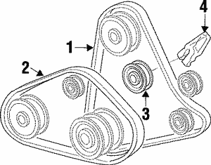 Belts Genuine Oem Hyundai Parts Conicellihyundaiparts Com