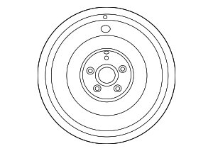 Wheel, Spare - Toyota (42611-21280)