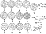 Wheel - Mercedes-Benz (b66471852)