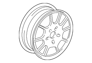 Wheel - Mercedes-Benz (6-6-47-4126)
