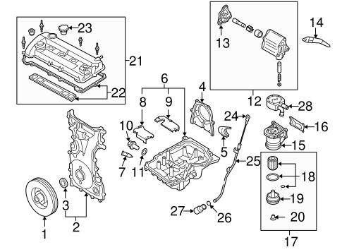 engine parts for 2007 mazda cx-7 | quirkparts  quirk parts