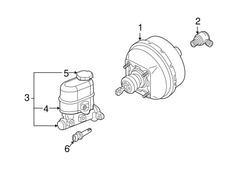 oem 2002 pontiac montana hydraulic system parts