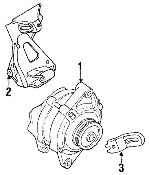 Alternator For 1997 Chrysler Sebring
