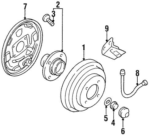 Rear Brakes For 1997 Nissan Sentra