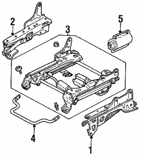 Tracks Components For 1999 Ford Taurus