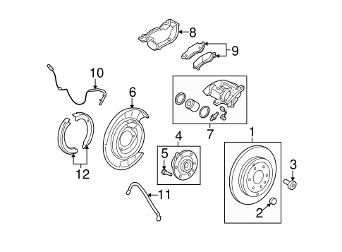 Gm Rear Brake Diagram