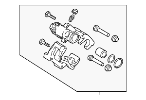 Brake Assembly - Hyundai (58210-G3300)