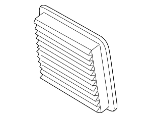 Air Filter - Subaru (16546AA10A)