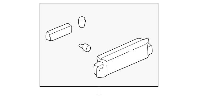 Switch Assembly, R Power Seat *NH283L* (Quartz Gray)