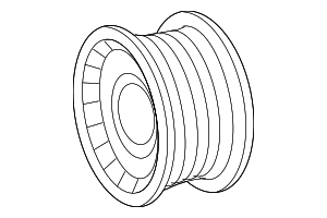 Pulley - Mercedes-Benz (277-200-00-00)
